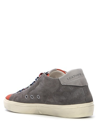 Leather Crown Sneakers Renkli